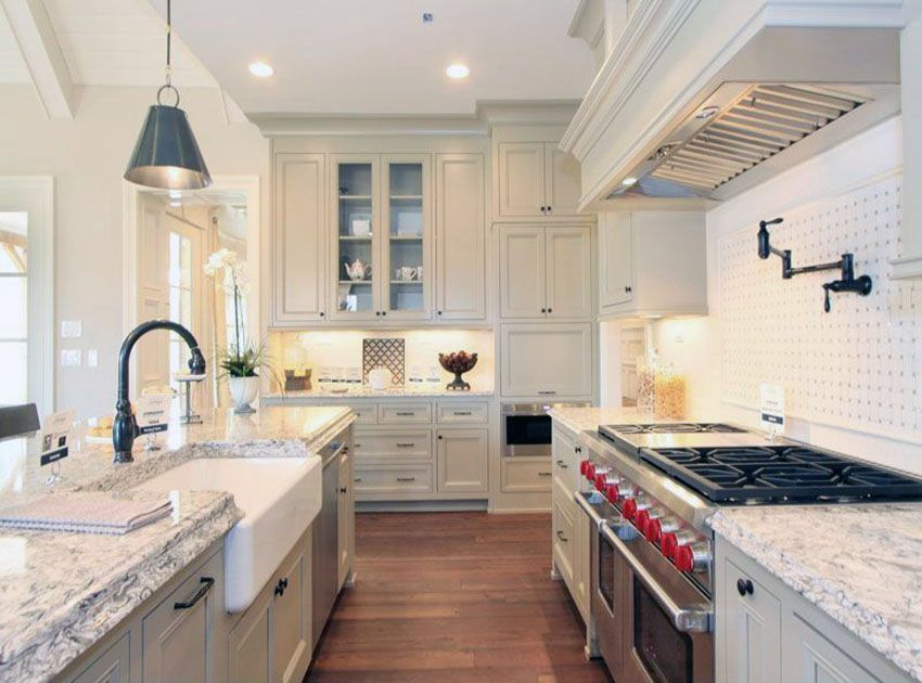 26 Gorgeous White Country Kitchens Pictures Country