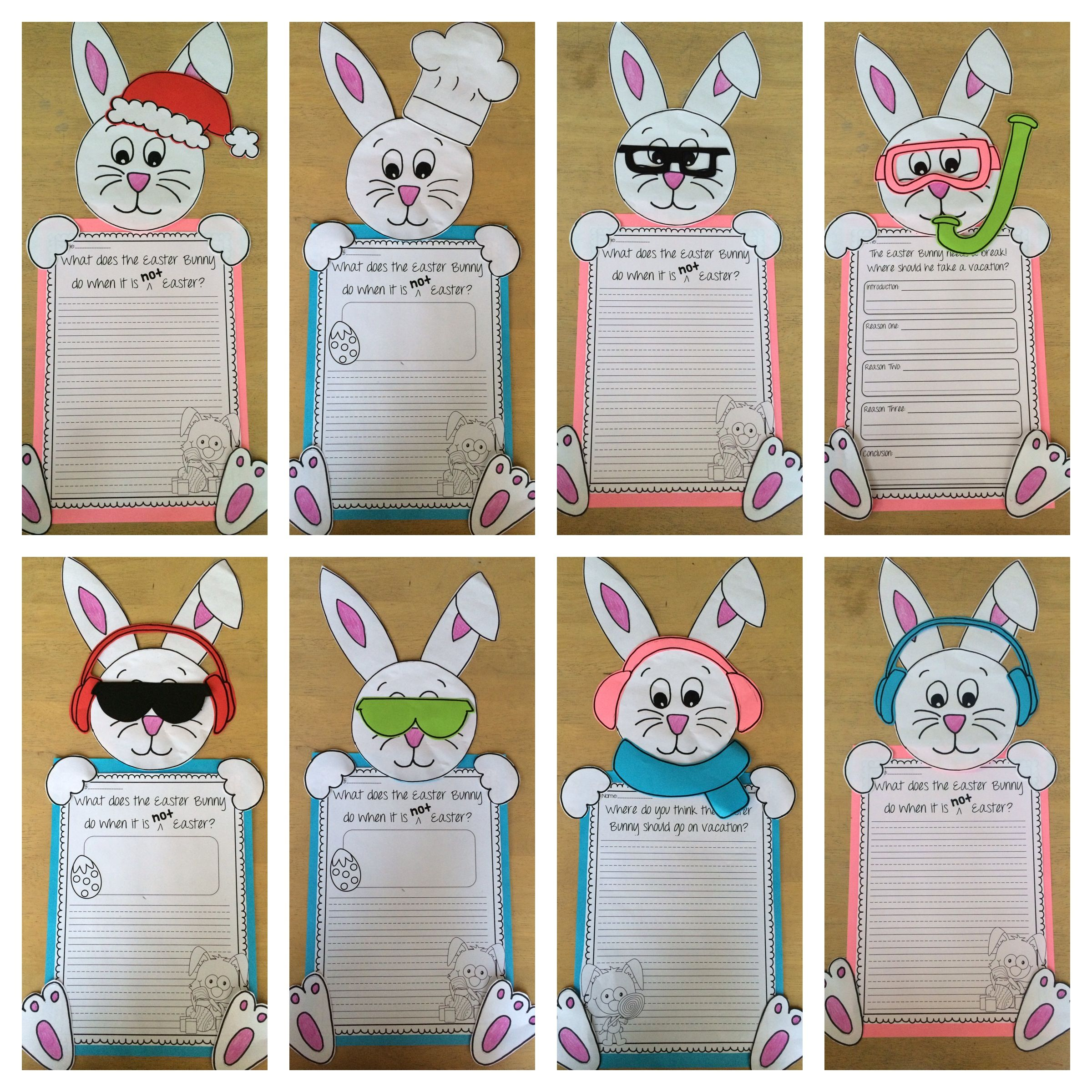 Easter Writing And Craft Mega Pack With Images