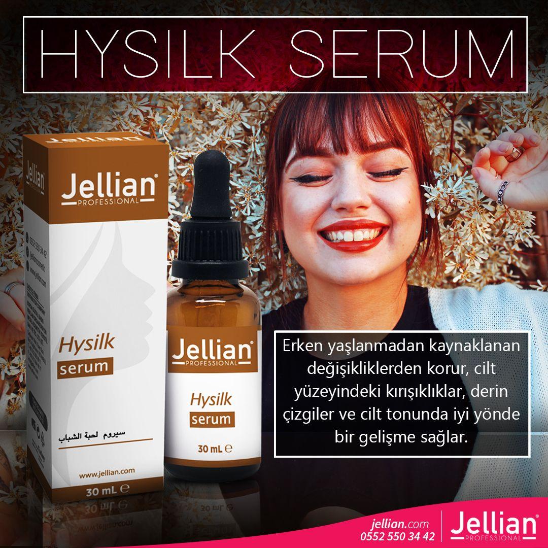 Jellian Hysilk Serum Erken yaşlanmadan kaynaklanan ...