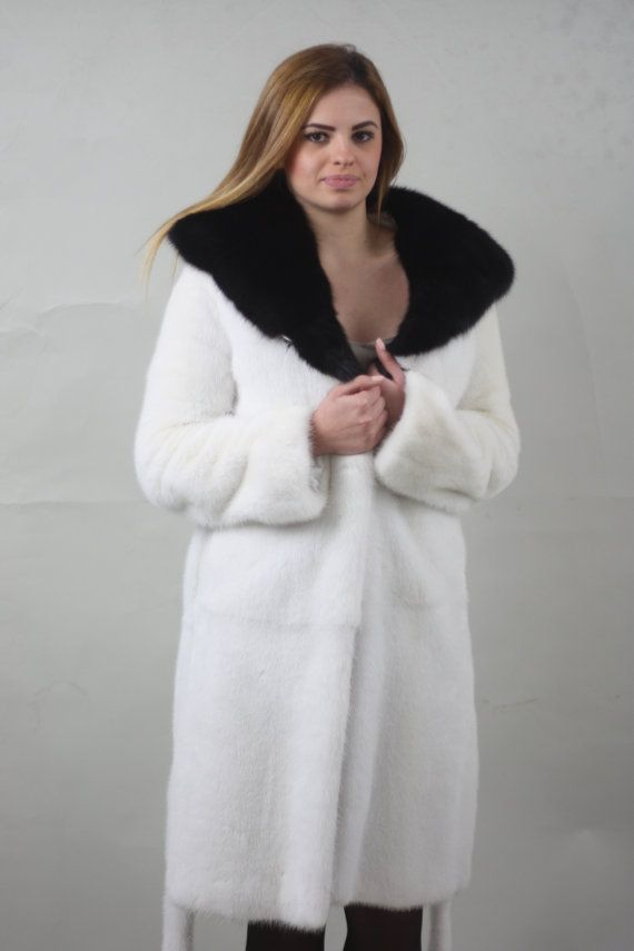 Hey, I found this really awesome Etsy listing at https://www.etsy.com/listing/258461116/luxury-giftwhite-and-black-hood-mink-fur