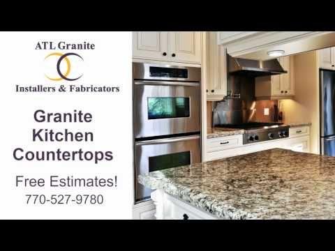 Atlanta Kitchen Granite Countertops 770 527 9780   YouTube