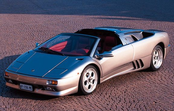 Ordinaire Lamborghini Diablo Roadster 1995 Silver
