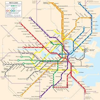 Someone else s Boston fantasy transit Pinterest