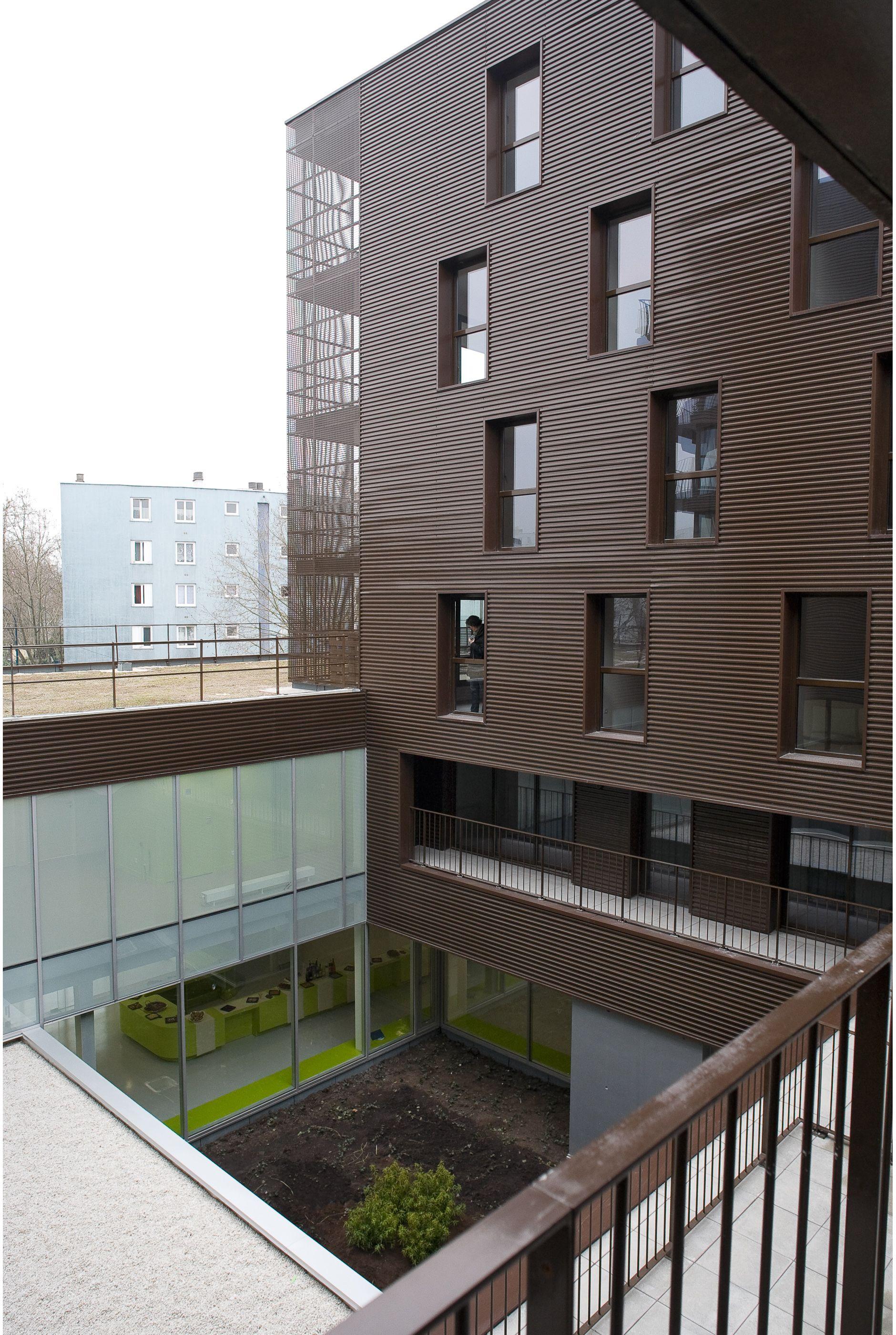 Centre municipal de santé Tenine 36 logements sociaux Pantin
