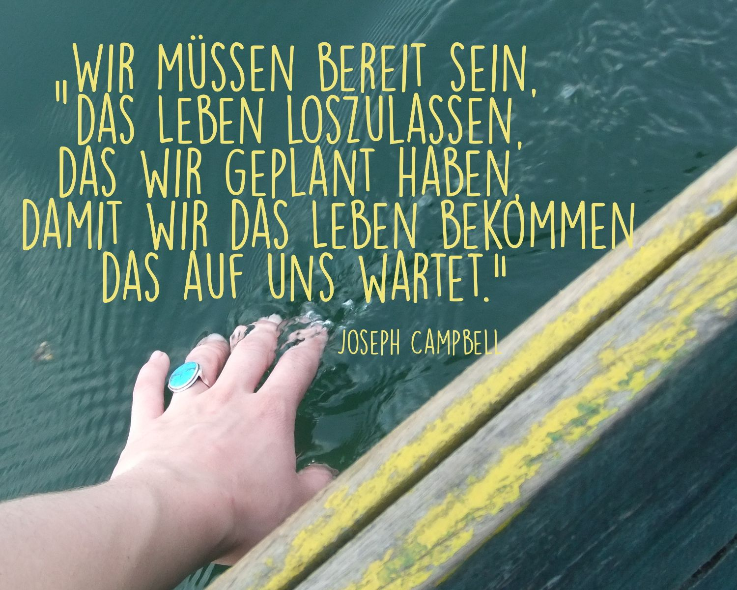 Loslassen Zitate quotes Pinterest