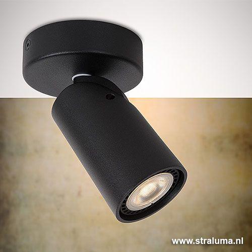 Badkamer LED Spot zwart verstelbaar - www.straluma.nl | Lampen ...
