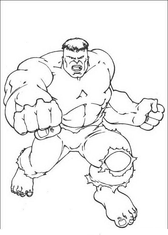 Ausmalbilder Hulk Hulk Zum Ausdrucken: Hulk Ausmalbilder 47