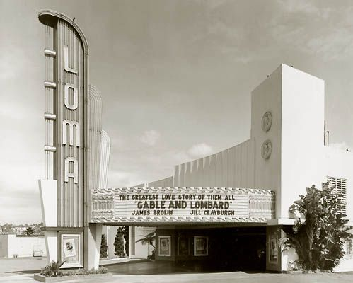 Point Loma deco movie theater