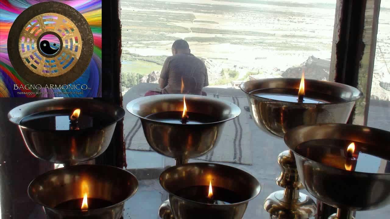 Meditazione Con Campane Tibetane Gong E Canto Armonico Per Sedute