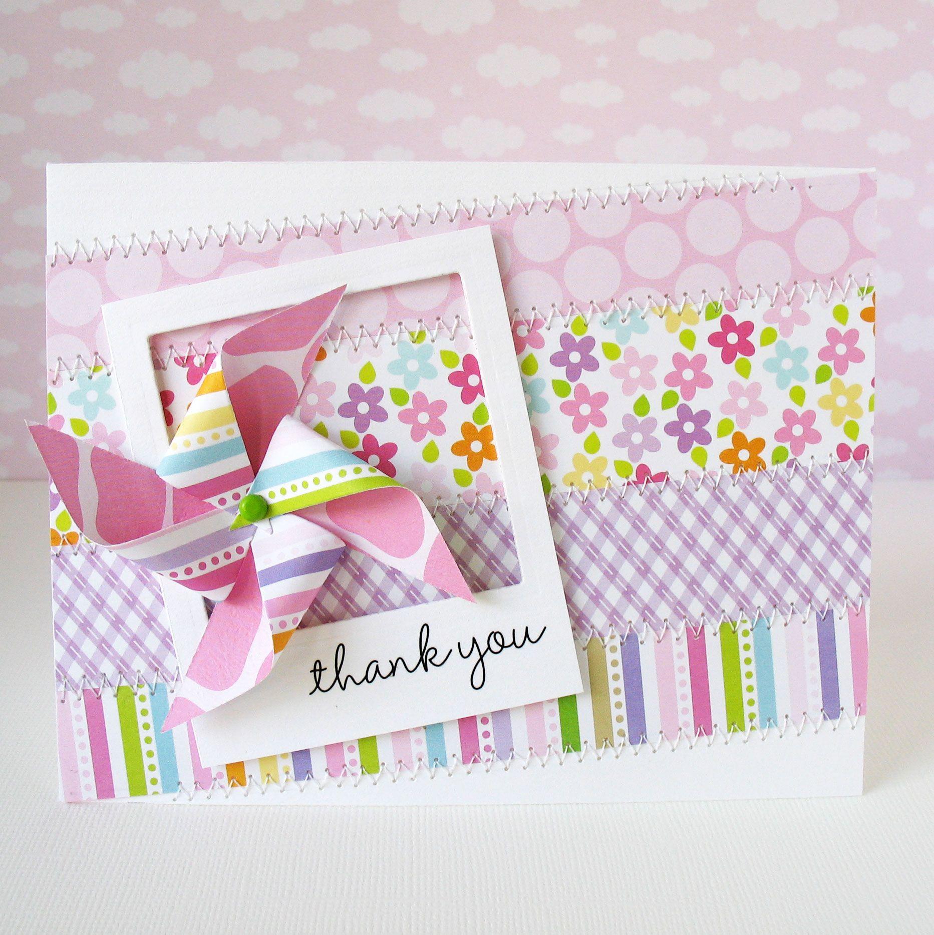 Thank You Bella Blvd Scrapbook Com Cards Pinterest