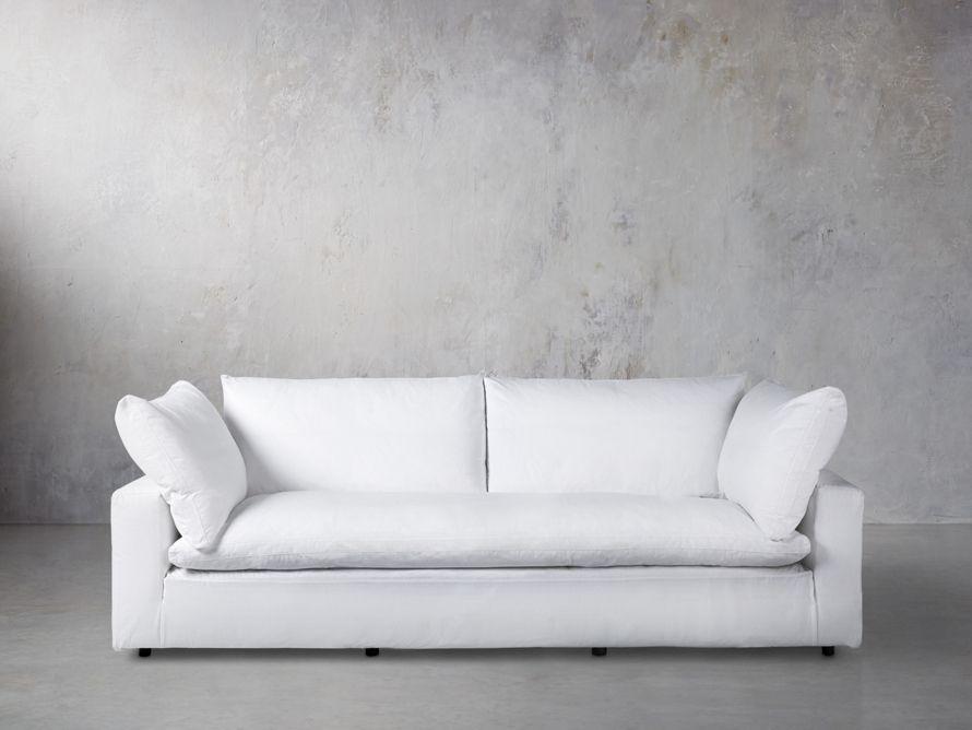 Tahoe Slipcovered Sofa Arhaus Furniture Love Seat Leather Sofa Sofas