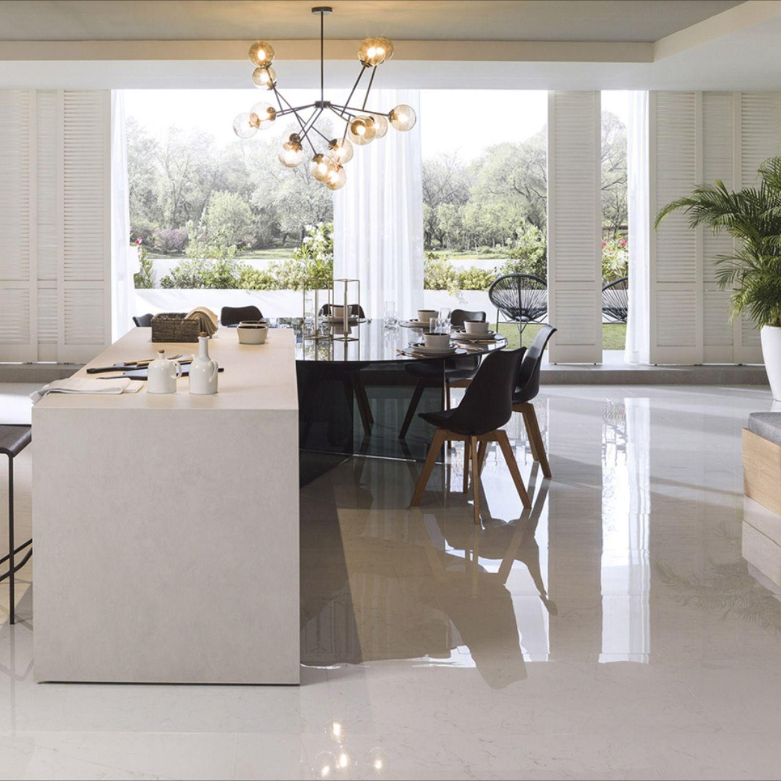 Premium Kitchens With The Porcelanosa Group Seal Kitchen Island With Seating Modern Kitchen Design Rustic Kitchen Backsplash