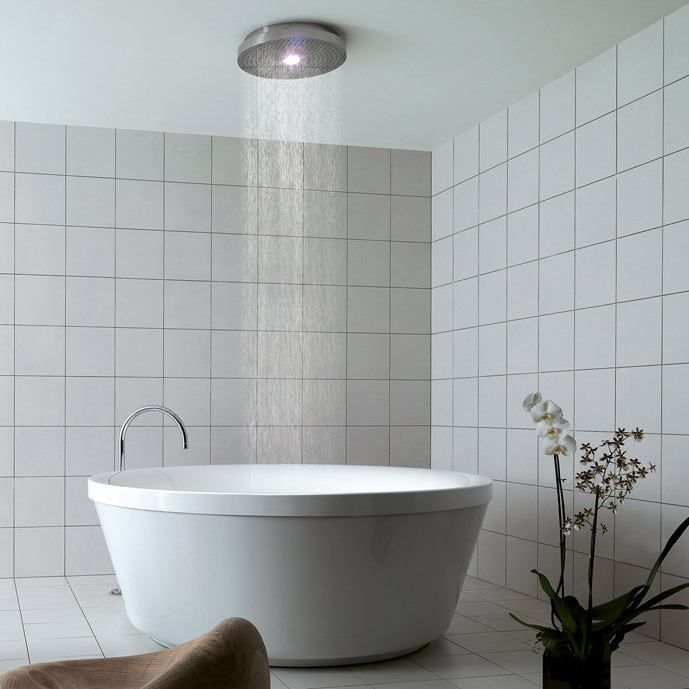 Modern Bathtub And Shower Combo