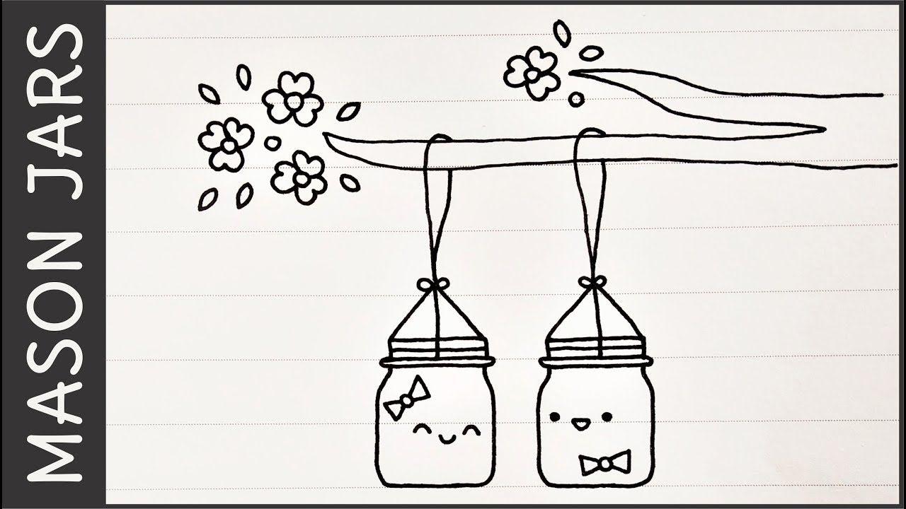Mason Jars Simple Cute Doodle Ideas And Puns Appy Doodles