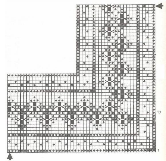 Crochet. Fundas de almohada Decoración párr Almohadas (11) (579x561 ...