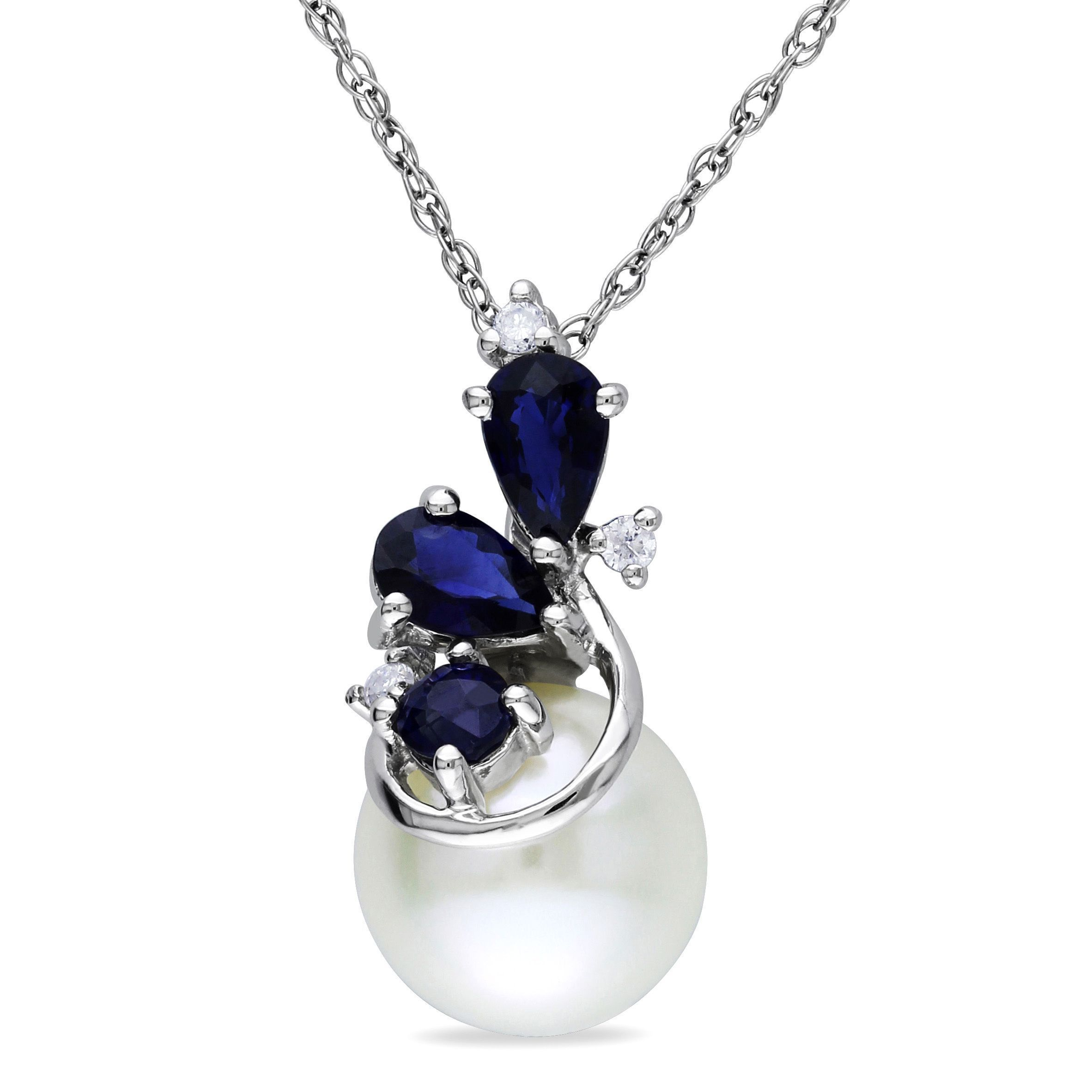 This dazzling necklace from the miadora collection features a