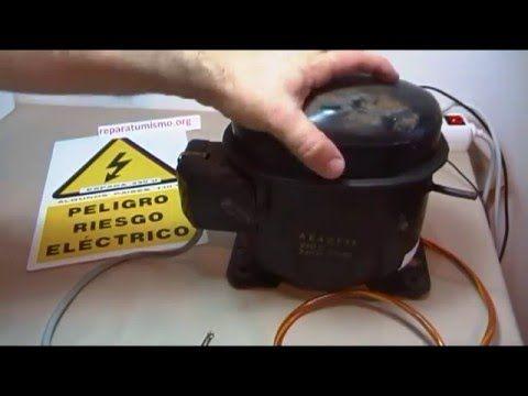 Reparación De Un Compresor De Nevera 1 X2f 3 Hp Heladera Youtube Compresor Refrigerador Refrigeracion Y Aire Acondicionado