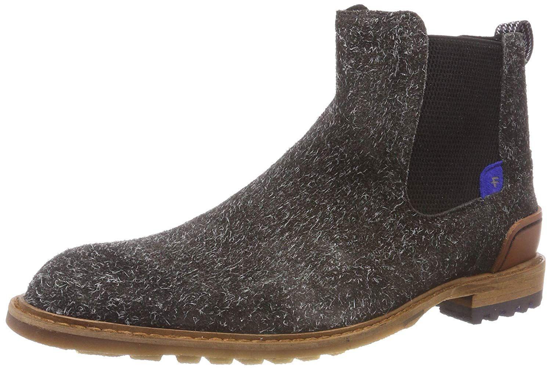 Herrenschuhe Floris van Bommel Business Schuhe braun 14092