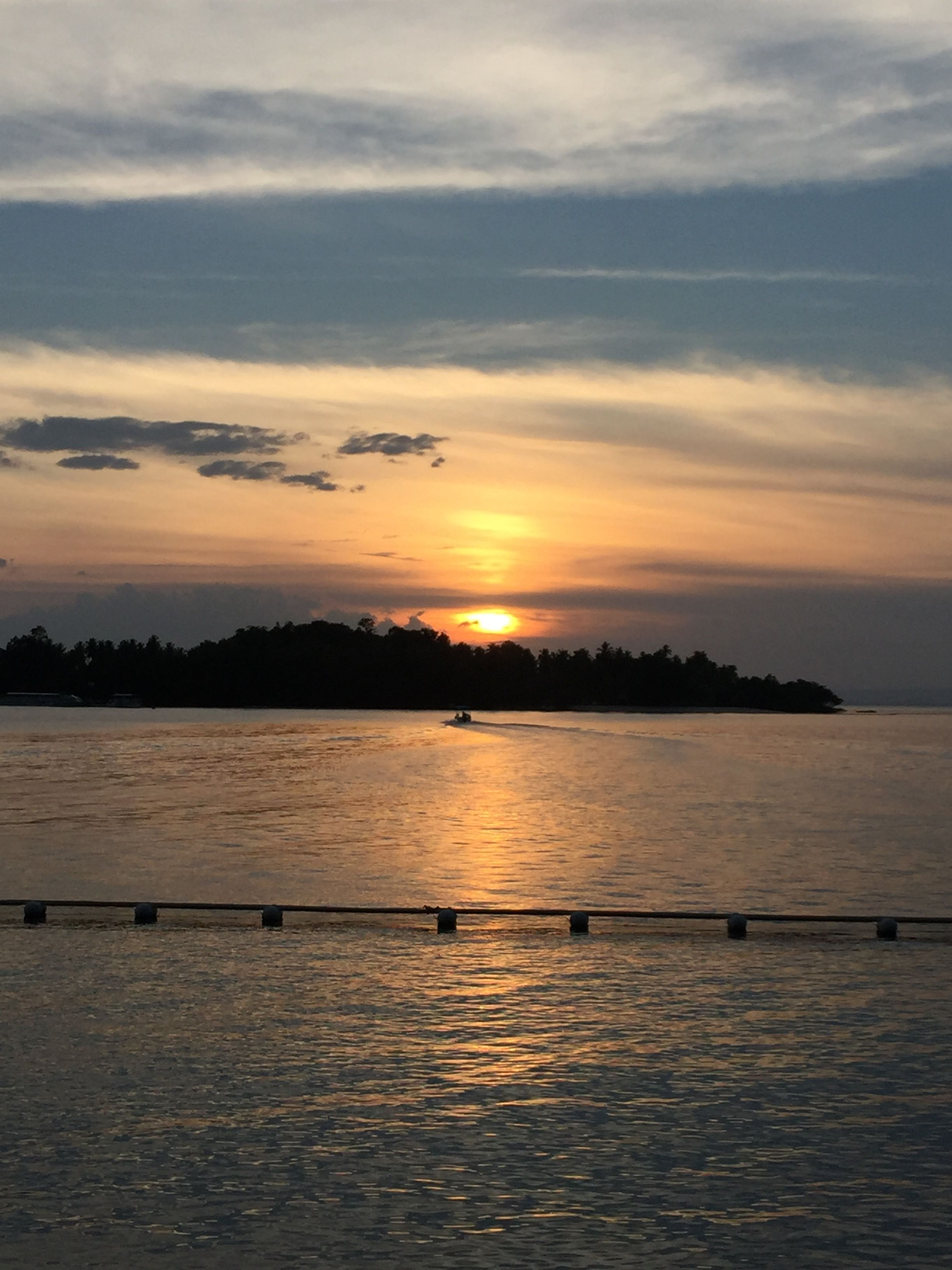 Sunset In Pearl Farm Beach Resort Samal Island Davao My