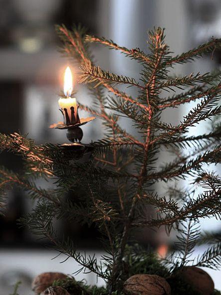 Photo of Fantastiske, enkle, elegante – stearinlys og juletre lysestaker www.christm …