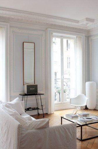 L\u0027interieur parisien chic et créatif de la blogueuse Vanessa Pouzet