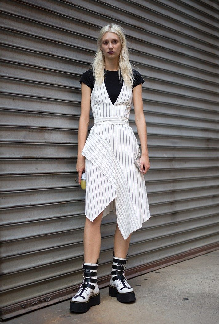 d55fd6d9141e6 NYFW  The Best Street-Style Moments from the Spring 2017 Shows ...