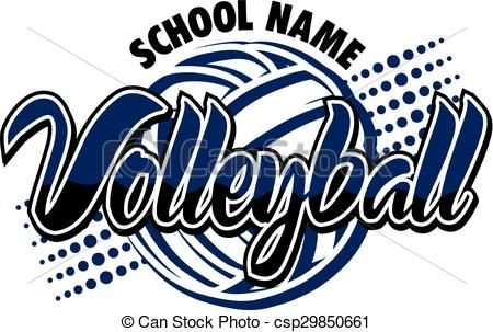 Vector volleyball design stock illustration royalty free illustrations stock clip art icon - Volleyball geschenke ...