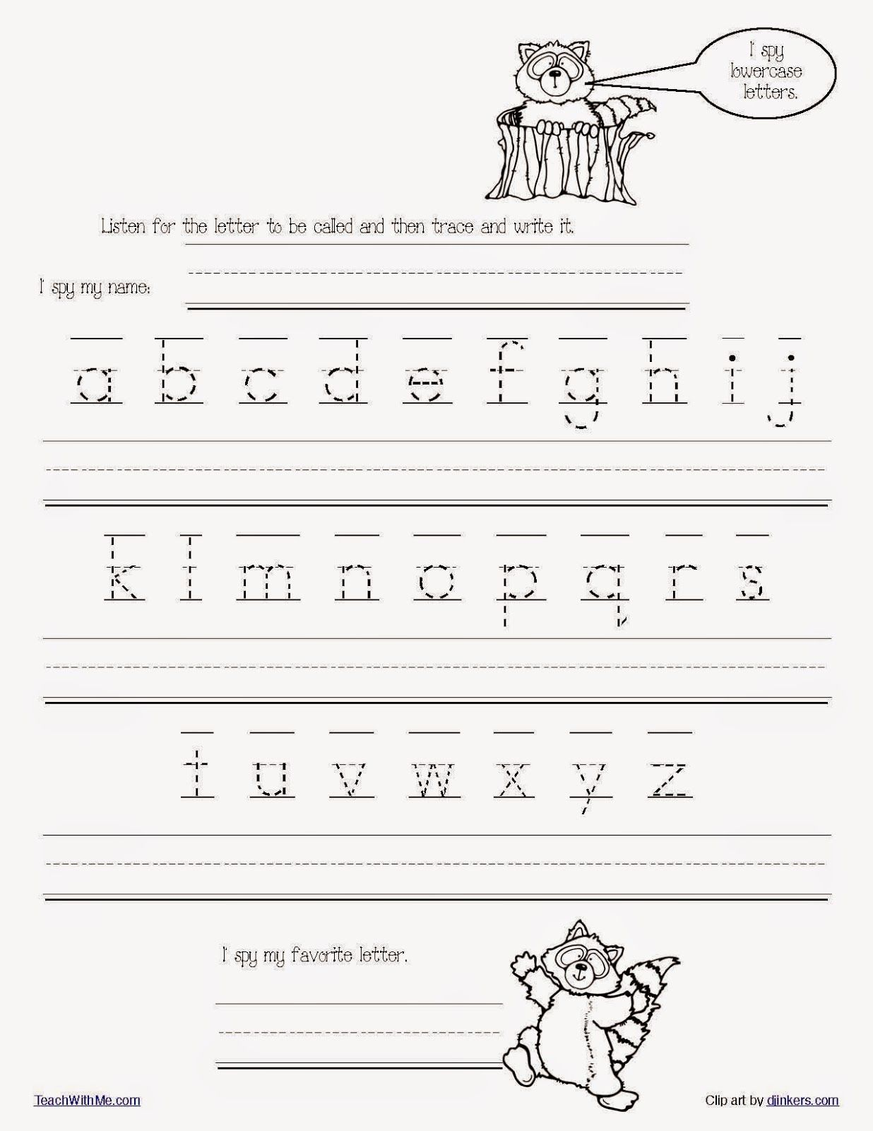 The Kissing Hand Alphabet Games Packet   Handwriting worksheets for  kindergarten [ 1600 x 1236 Pixel ]