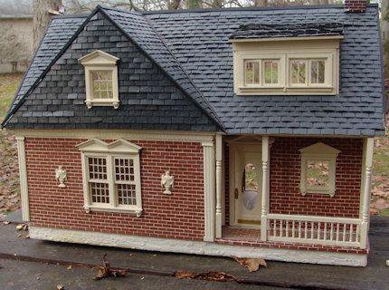 Maison De Poupee 1 12 Scale Miniature Houses Doll House Dollhouse Miniatures