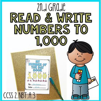 2nbta3 Read And Write Numbers To 1000 2nd Grade Number