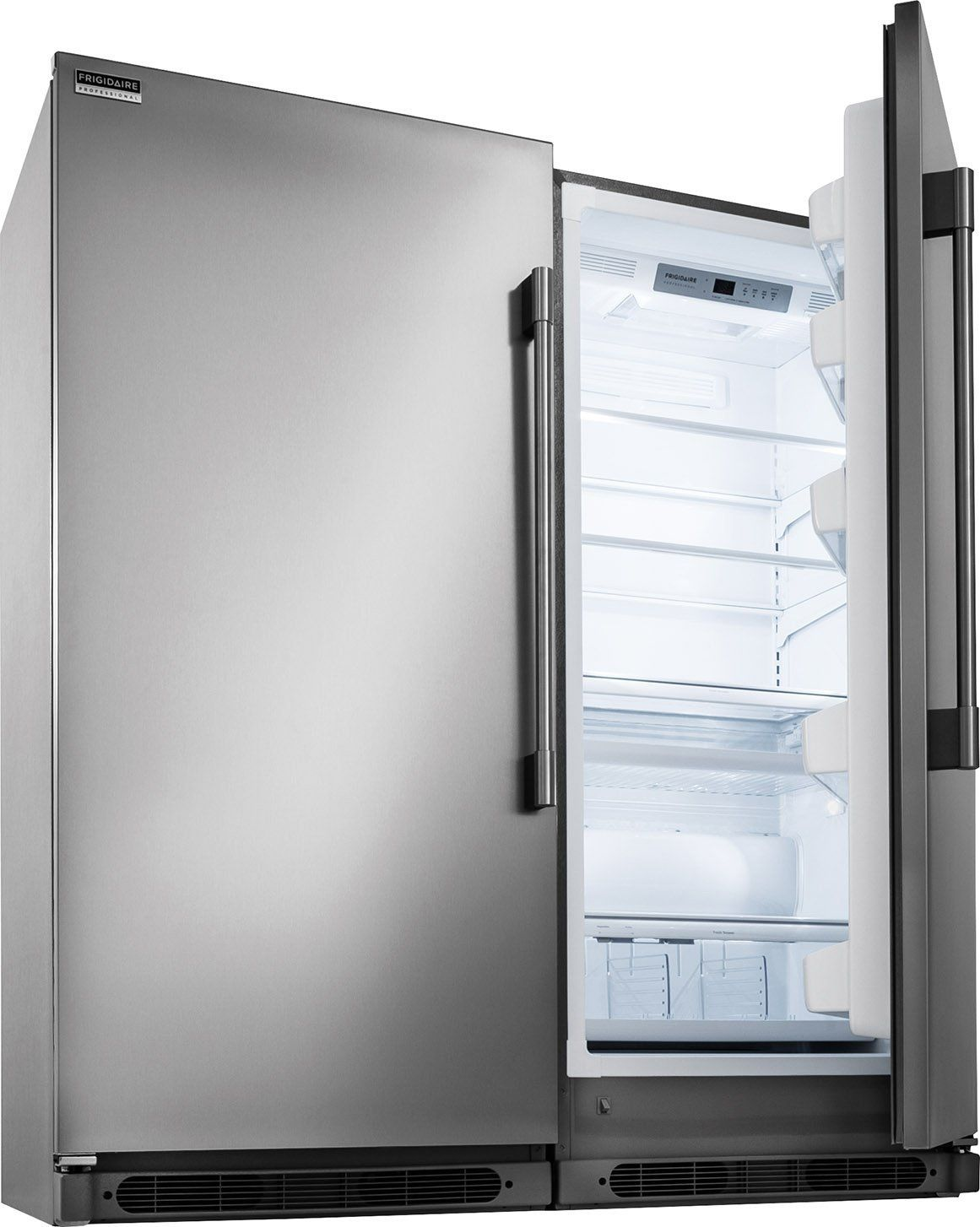 Frigidaire Professional Series Built In All Refrigerator Freezer Combo With Easy Care Stainless