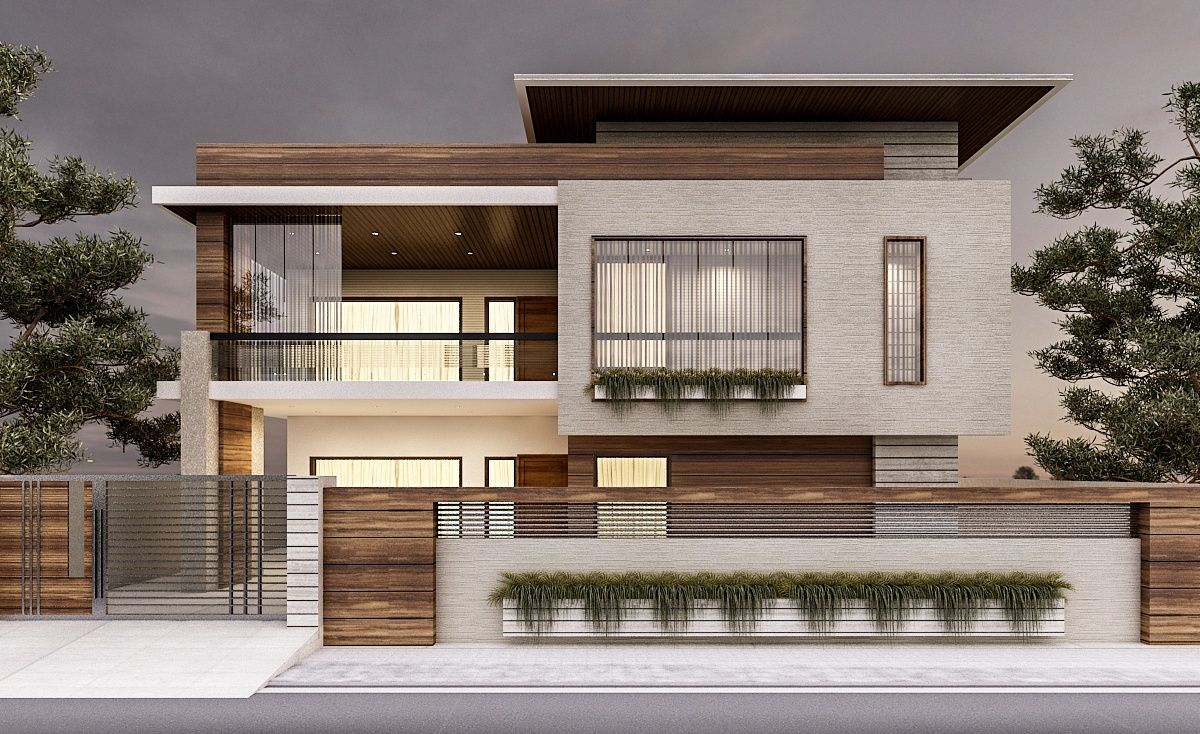 Awesome Renders Exterior On Behance
