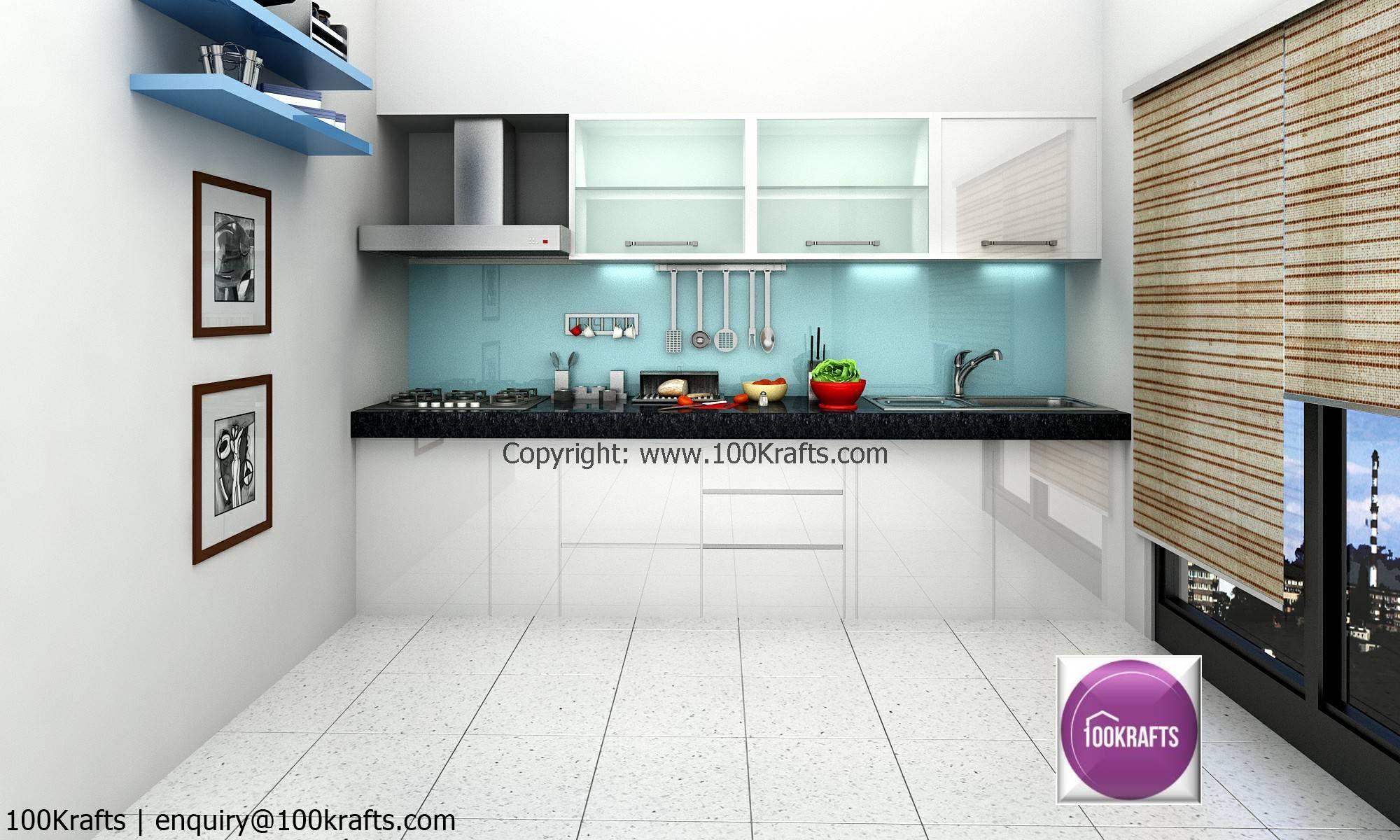 Idea by 100Krafts on Dream Kitchen Interior design firms