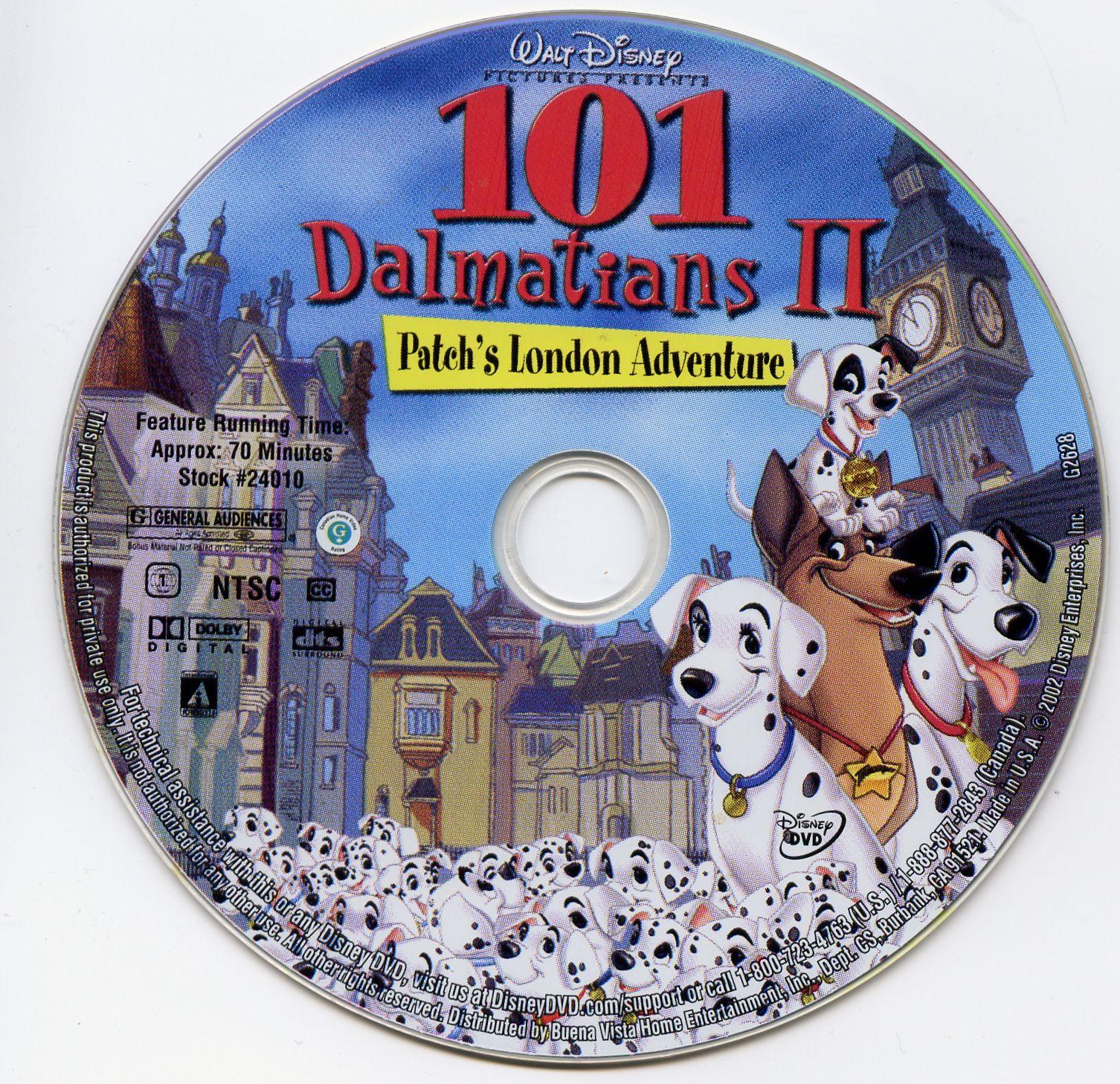 101 Dalmatians Ii Patch S London Adventure 2003 Dalmatian