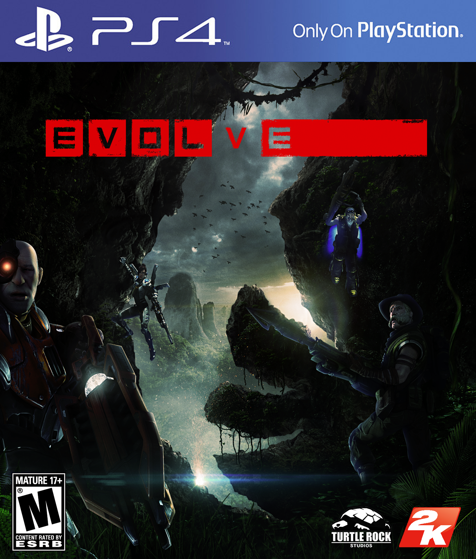 Pin by James Fletcher on KEY ART | Evolve game, Game art