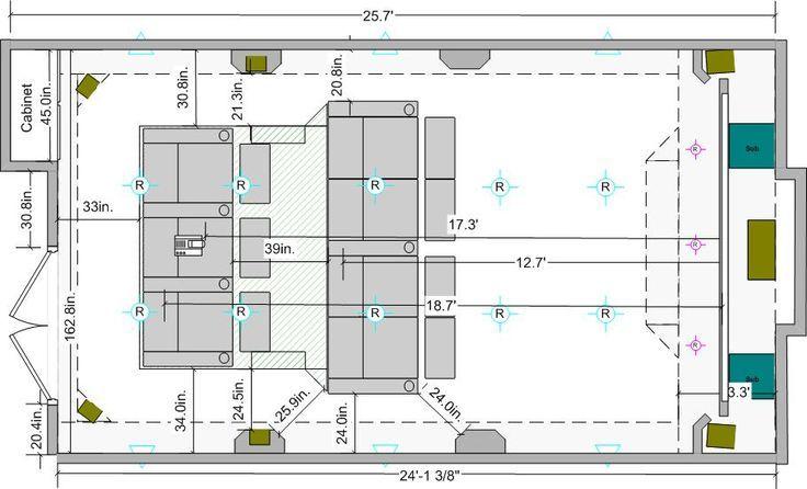 Heimkino Design Pläne Wohndesign Home Theater Plans