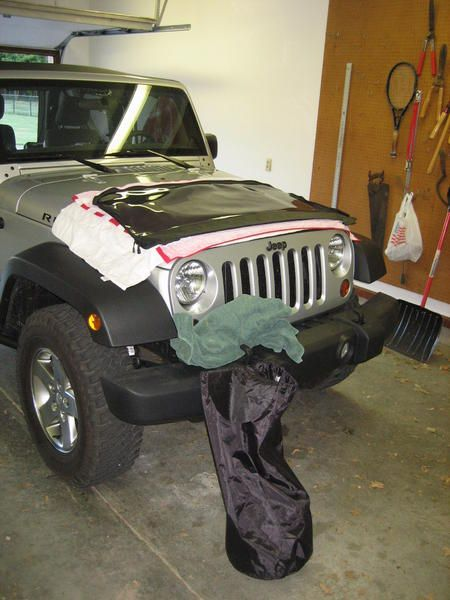 Diy Jeep Soft Top Window Storage Using Towels And A Sleeping Bag