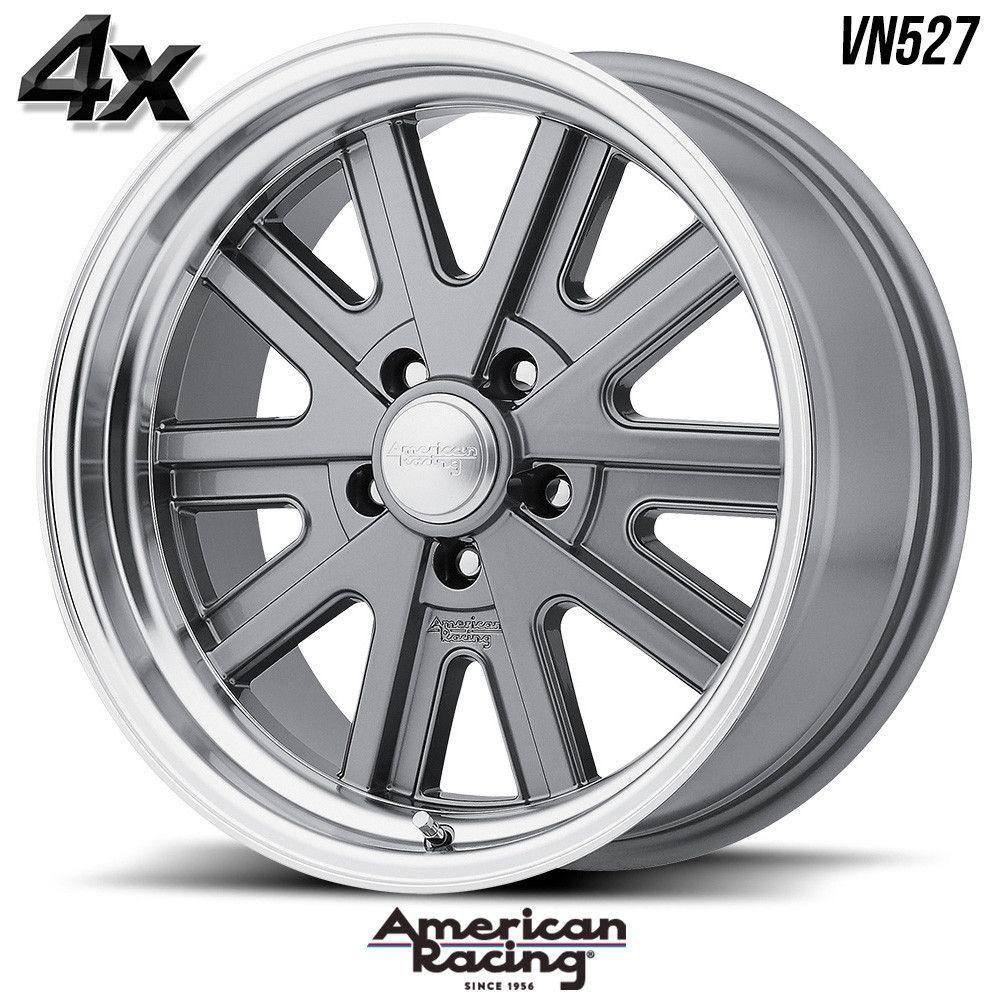 4 American Racing VN527 15\
