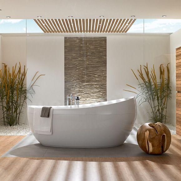 badezimmer mit freistehender badewanne - carport 2017, Badezimmer