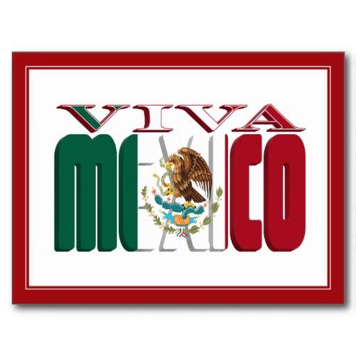 Viva mexico postcard  Dibujo