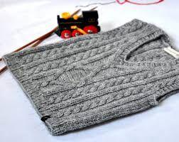 Resultado de imagen para chalecos tejidos para niños