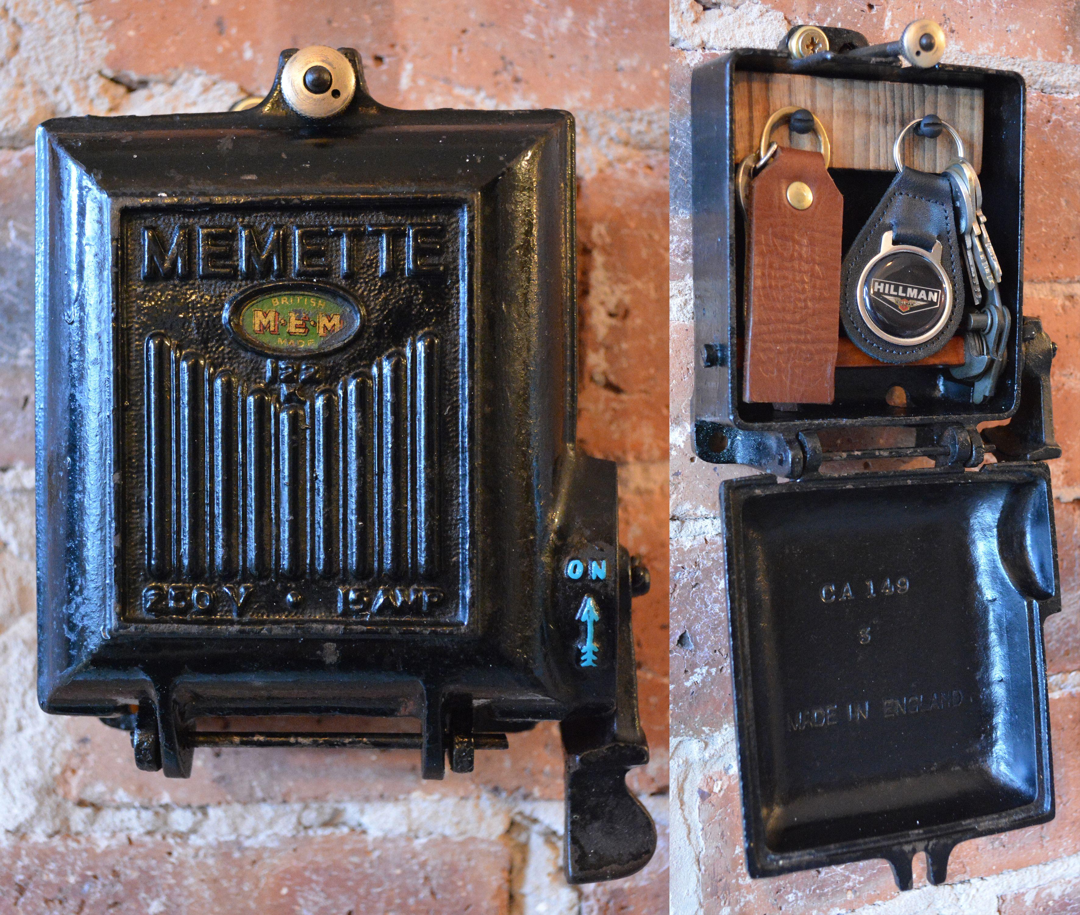 [DVZP_7254]   Cast Iron Key Safe Storage Rack - Converted from an Antique 1940's Memette Fuse  Box. SOLD. #Vintage #Industrial #Manc… | Unique items products, Bike shed,  Creative | Vintage Cast Iron Fuse Box |  | Pinterest