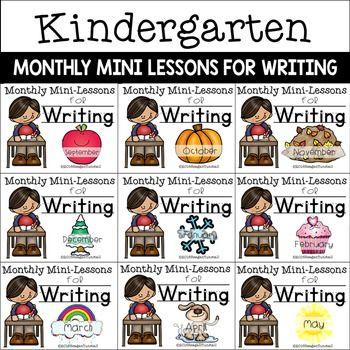 Photo of Kindergarten Writing Mini-Lessons Bundle