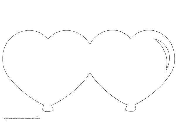 Coloriage Ballon En Coeur.Fete Des Meres Carte Ballon Coeur Sapin Scan N Cut Et