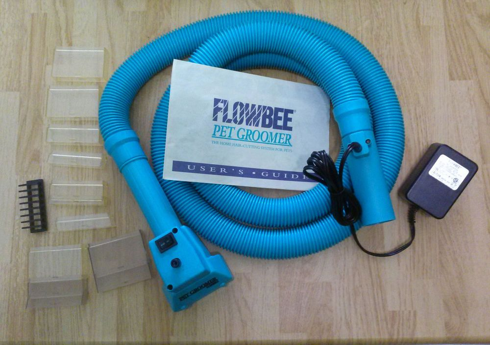 Flowbee Pet Groomer Home Grooming System For Pets Dogs Cats