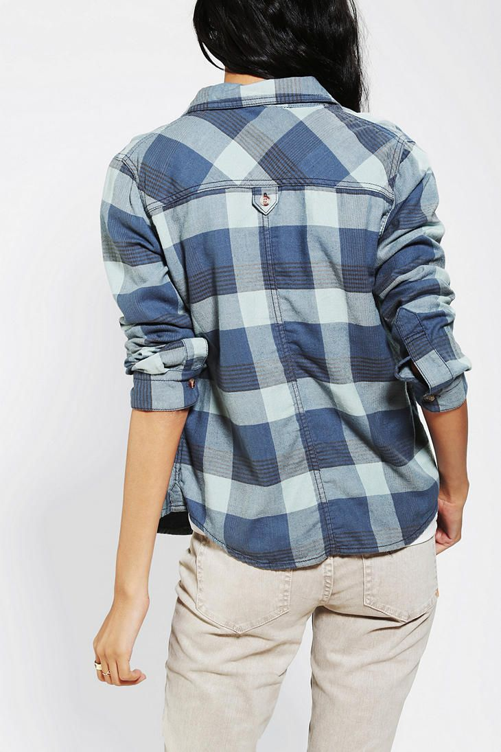 BDG Shrunken Button-Down Shirt