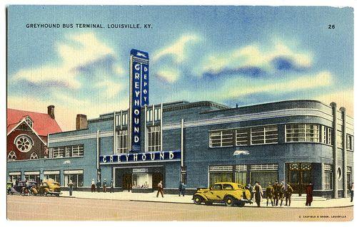 Greyhound Bus Terminal Louisville Ky Greyhound Bus Greyhound Louisville