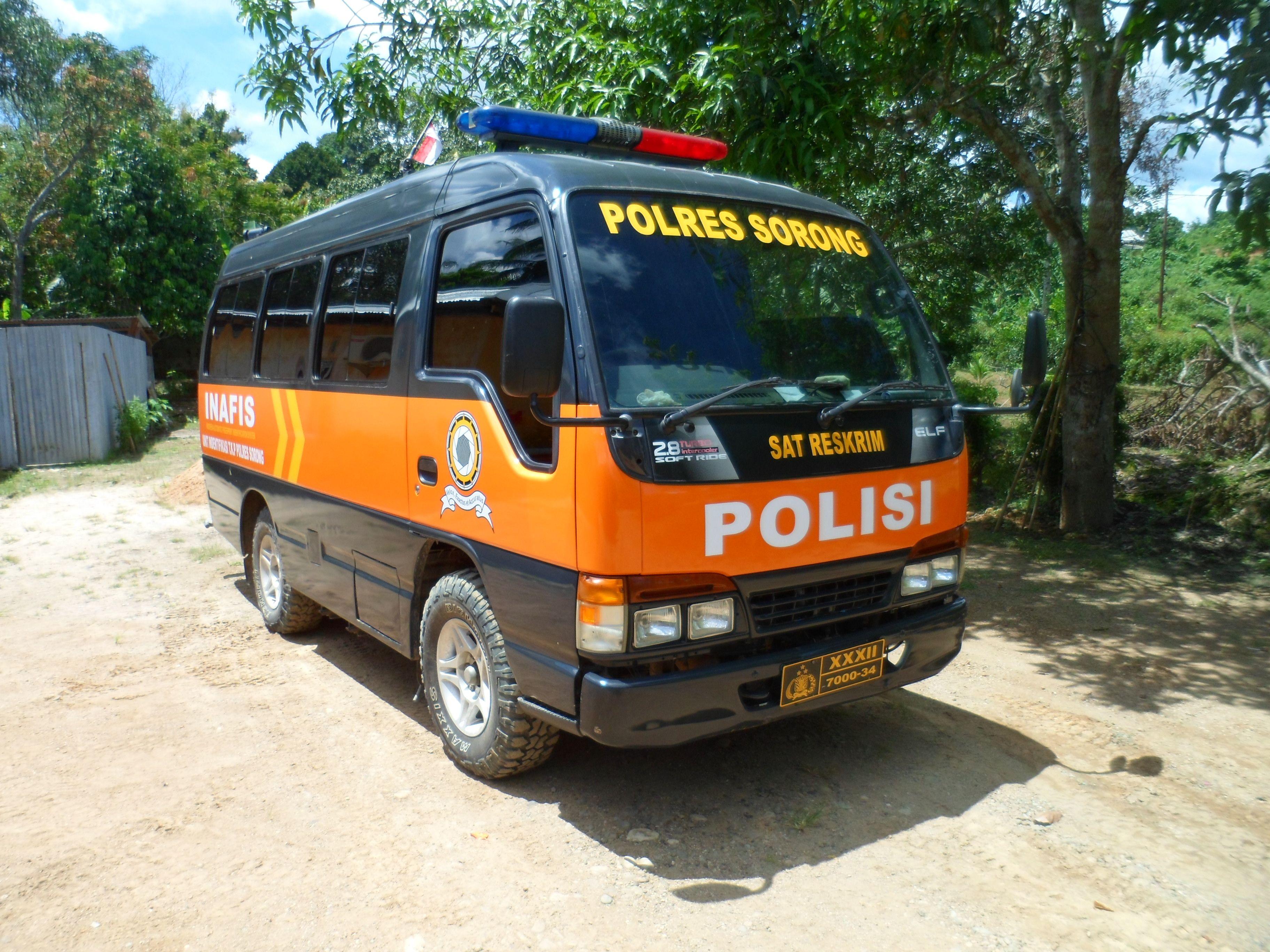 Sticker Mobil Sorong Sticker Mobil Inafis Polres Sorong Tribal Graphics Jln Trikora Transad Aimas Kab Sorong Papua Barat Call Sms Wa 0852 54 Modifikasi Mobil