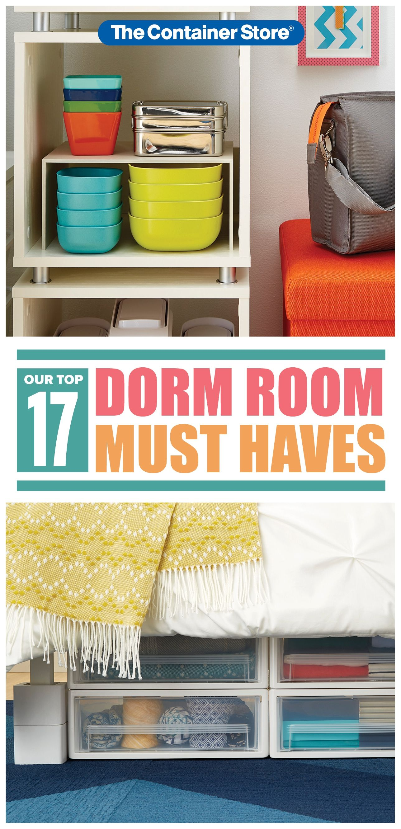 Get High School Graduates What They Need For Their Freshman Year In A Dorm Room Check Out Our Top 1 Dorm Room Essentials List Dorm Room Organization Dorm Room