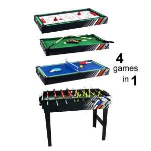 4 in 1 Game Table, spillbord. 999- xxl.no
